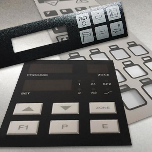 Frontfolien / Frontplatten / Tastaturfolien