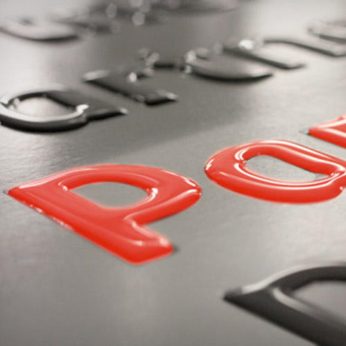 3D-Etiketten / Doming-Etiketten