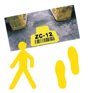 Stellplatz-Markierungen