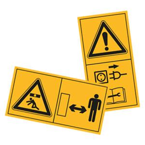 Maschinenschilder, nach ISO 11684