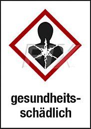 GHS - gesundheitsschädlich