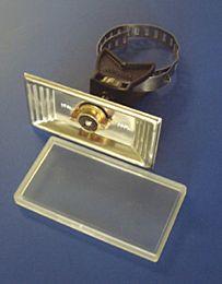 Schilderträger mit Spannband
