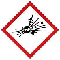 Rohrleitungsbänder Gefahrstoffe - G01 - explosiv