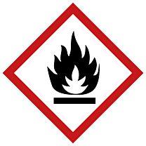 Rohrleitungsbänder Gefahrstoffe - G02 - entzündlich