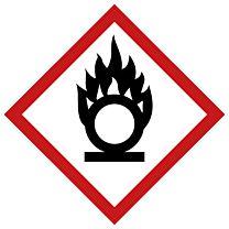Rohrleitungsbänder Gefahrstoffe - G03 - brandfördernd