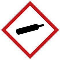 Rohrleitungsbänder Gefahrstoffe - G04 - komprimierte Gase