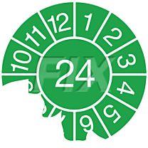 Jahresprüfplakette - 2024