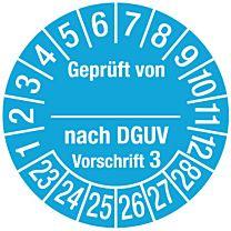 Geprüft nach DGUV Vorschrift 3