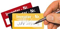 Inventar - Nr.  - selbstlaminierend