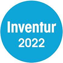 Inventuraufkleber - 2022