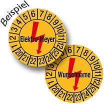 Elektro Prüfplakette individuell