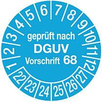 Lagereinrichtung geprüft - DIN EN 15635/DGUV Regel 108-007