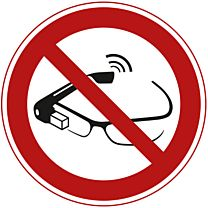 Benutzung von Datenbrillen verboten