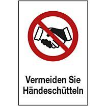 Kein Händesschütteln