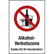Alkohol-Verbotszone