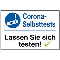 Corona Selbsttest - Angebot