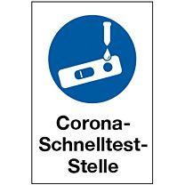 Corona Schnelltest-Stelle