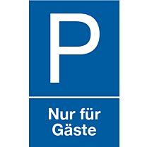 Parkplatz: Nur für Gäste