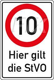 10 km/h - StVO