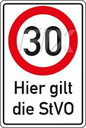 30 km/h - StVO