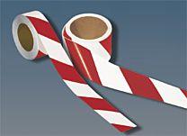 Warnmarkierungsband, retro-reflektierend, rot/weiß - 3M