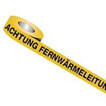 Trassenwarnband: Achtung Kabel