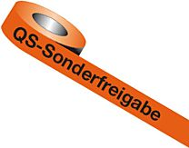 QS-Band: QS - Sonderfreigabe