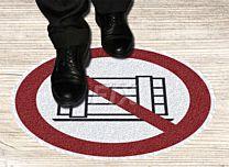 Bodenmarkierer - Abstellen verboten
