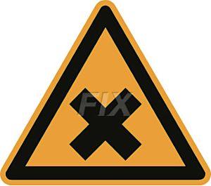 Warnung vor gesundheitsschädlichen oder reizenden Stoffen
