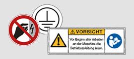Elektro- und Maschinenkennzeichnung