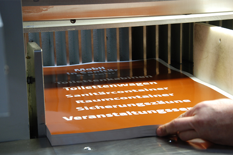 Polar Druckverfahren Druckerei Hannover